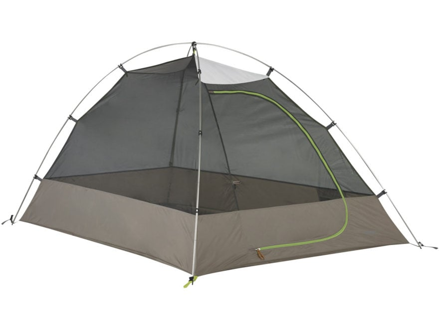 """Kelty Grand Mesa 2 Person Dome Tent 82"""" x 58"""" x 44"""" Polyester White, Gray and Green"""