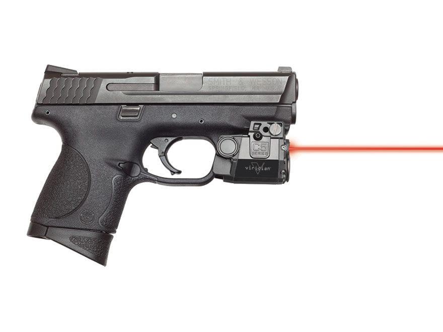 Viridian C5 Series 5mW Laser Sight Sub-Compact with Universal Rail Mount Black