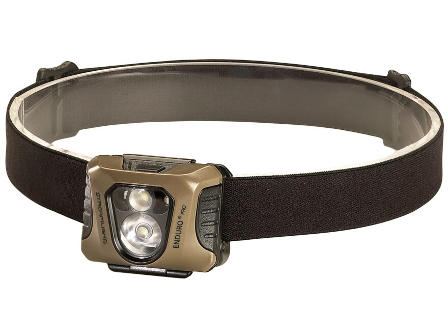 Streamlight Enduro Pro Headlamp LED with 3 AAA Battery Polymer Coyote