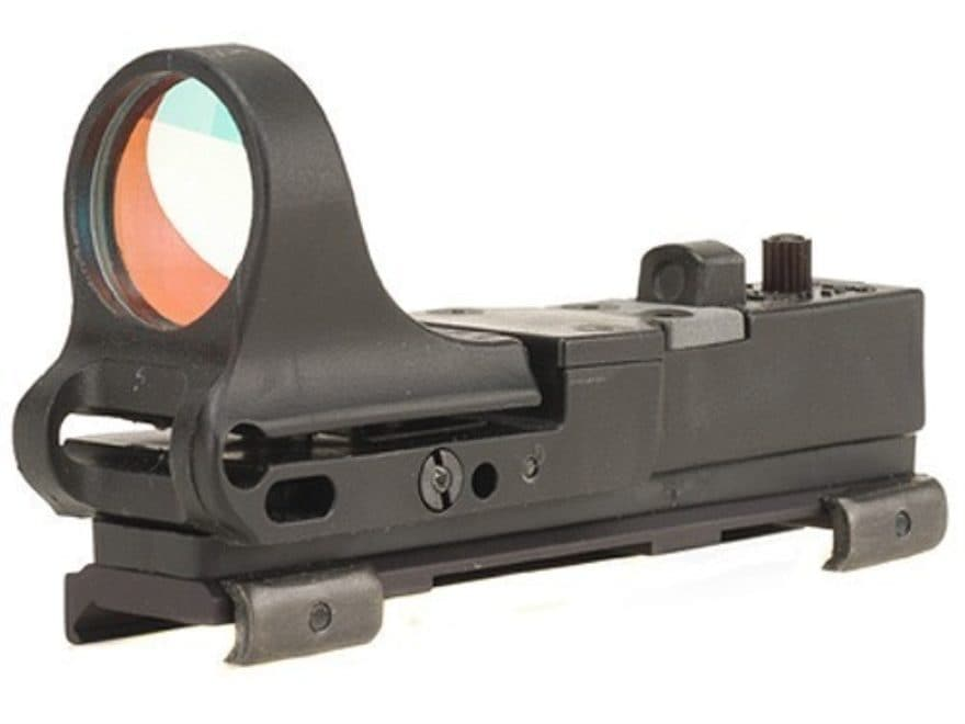C-More Tactical Railway Reflex Sight 8 MOA Red Dot with Integral Picatinny Mount Polyme...