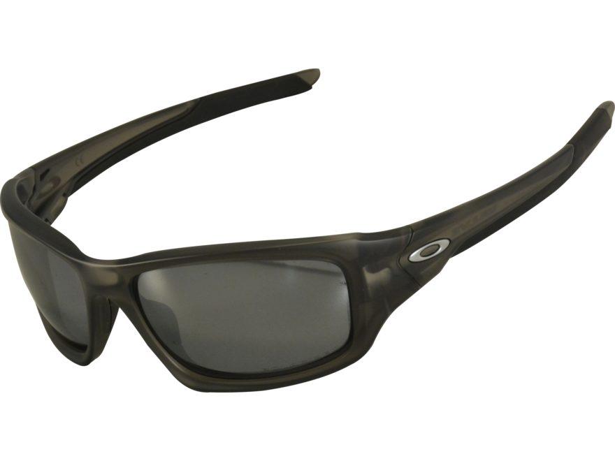 731af26a8d Oakley Valve Polarized Sunglasses Matte Gray Smoke Frame Black Iridium Lens