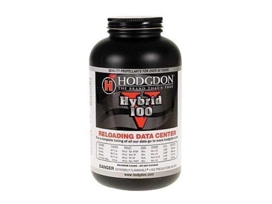 Hodgdon Hybrid 100V Smokeless Gun Powder