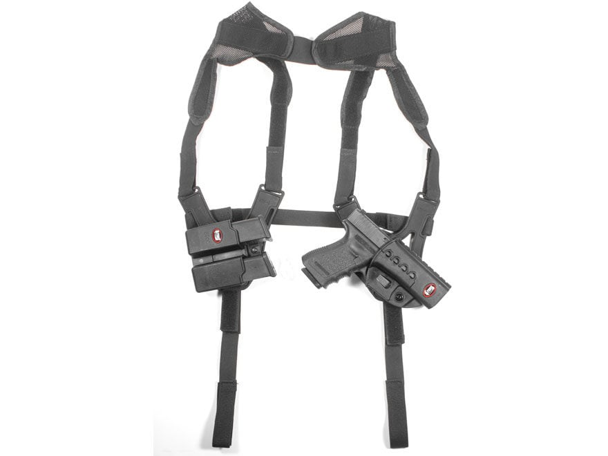 Fobus Shoulder Harness Ambidextrous fits all Roto Holsters and Magazine Pouches Polymer...
