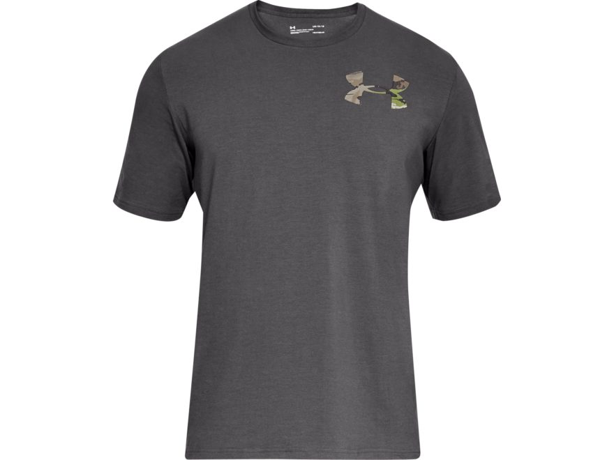 Under Armour Men's UA Whitetail Skull T-Shirt Short Sleeve Charged Cotton