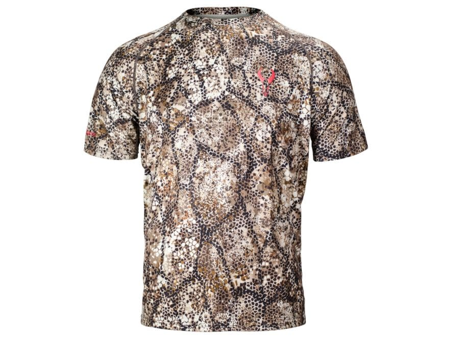 Badlands Men's Altitude Lightweight Scent Control Shirt Short Sleeve Polyester