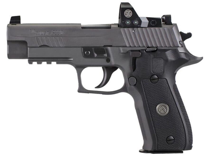 "Sig Sauer P226 RX Legion SAO Pistol 9mm Luger 4.4"" Barrel X-Ray 3 Night Sights 15-Round..."