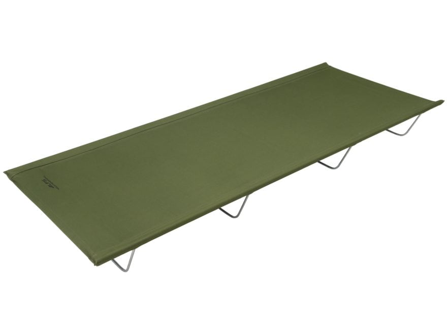 ALPS Mountaineering Lightweight Camp Cot Steel and Polyester Green