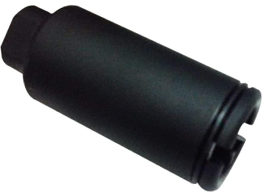 "KAK Flash Can Flash Hider 5/8""-24 7.62mm Aluminum Matte"