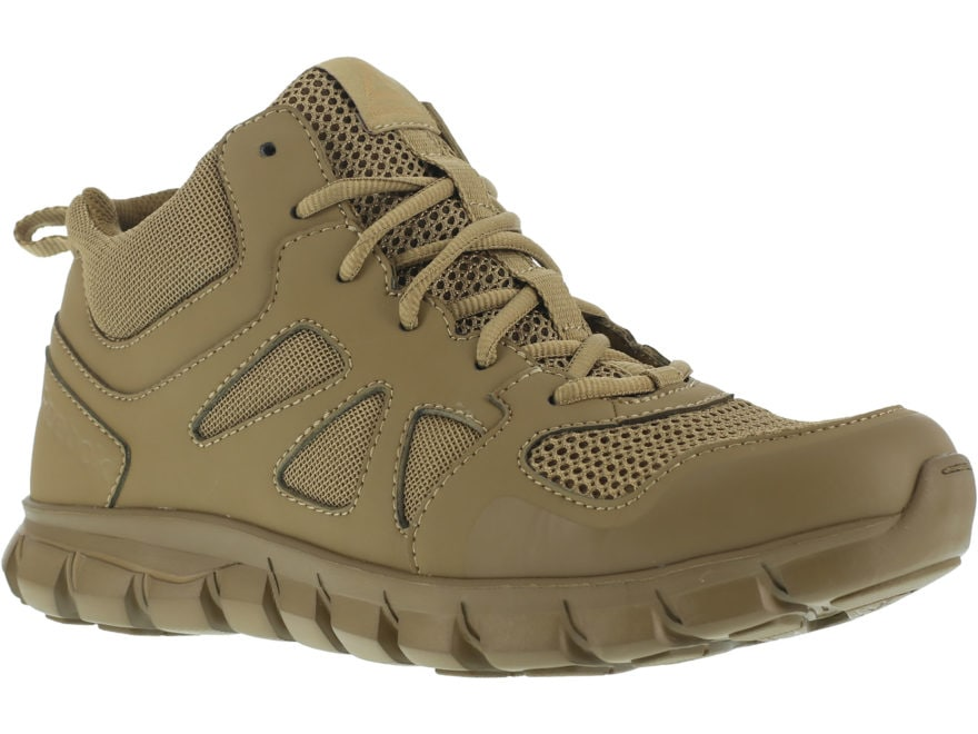 "Reebok Sublite Cushion 4"" Tactical Shoes Leather/Nylon Men's"