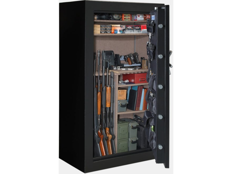 Stack-On Armorgaurd Fire Resistant Safe with Electronic Lock Matte Black