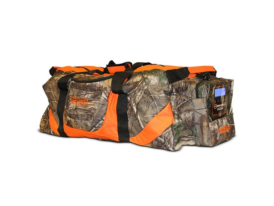 Scent Crusher Gear Bag Ozone Scent Elimination Device Camo Large