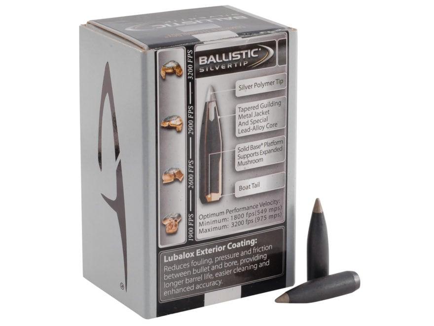 Combined Technology Ballistic Silvertip Hunting Bullets 30 Caliber (308 Diameter) 168 G...