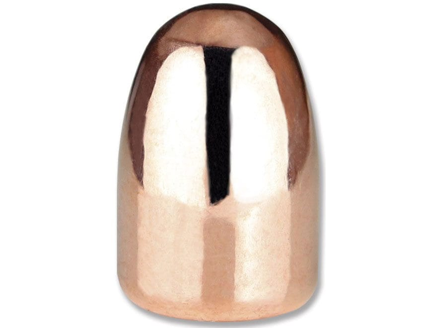 Berry's Superior Plated Bullets 38 Super (356 Dia) 130 Grain Plated Round Nose