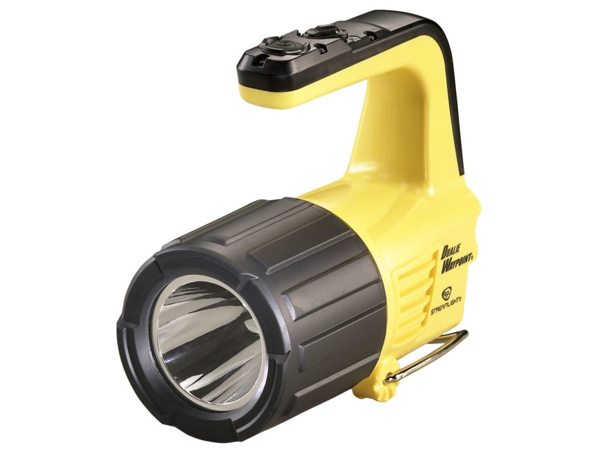 Streamlight Dualie Waypoint Spotlight Requires 4 C Batteries Polymer Yellow