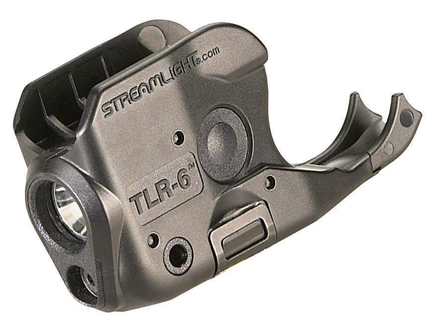 Streamlight TLR-6 Sig Sauer P238, P938 Weapon Light LED and Laser Polymer Black