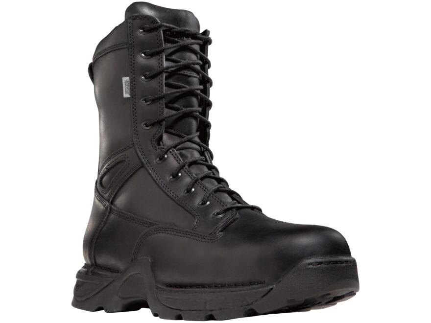 "Danner Striker II EMS 8"" Waterproof Tactical Boots Leather Black Men's 13 M"
