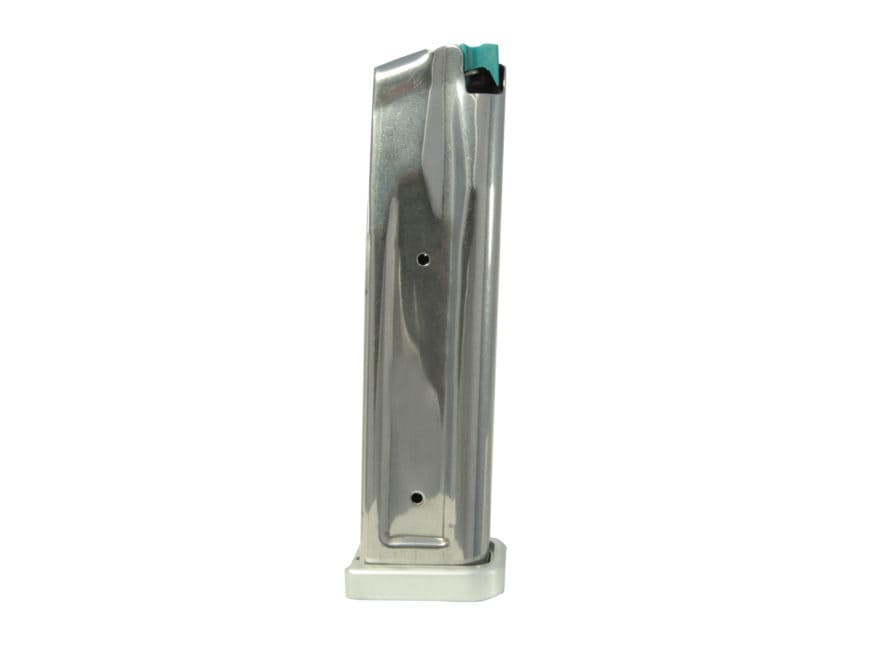 SPS Magazine Pantera, Vista, STI 2011 38 Super, 9mm Luger 23-Round 140mm Stainless Stee...