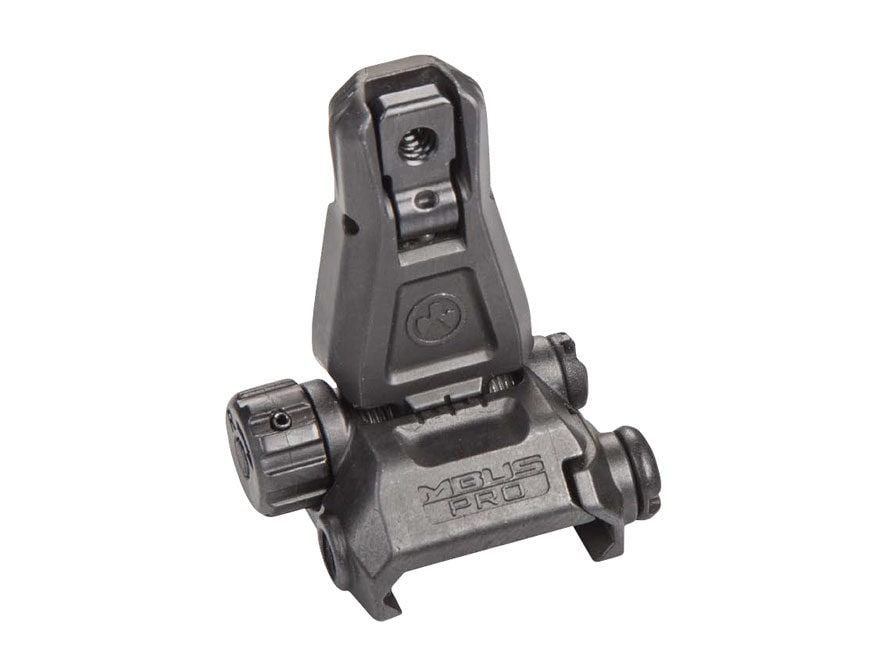 Magpul Flip-Up Rear Sight MBUS Pro AR-15 Steel Black
