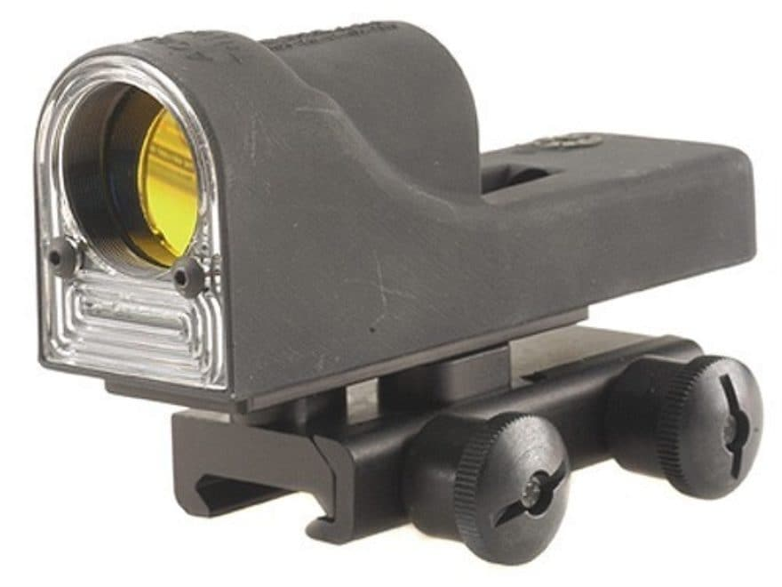 Trijicon RX06-14 Reflex Sight 1x 24mm 12.9 MOA Dual-Illuminated Amber Triangle Matte wi...