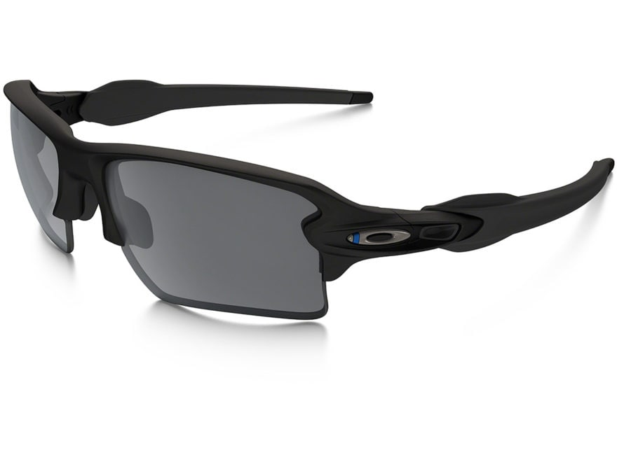 Oakley SI Flak 2.0 XL Thin Blue Line Sunglasses Black Frame/Black Iridium Lens