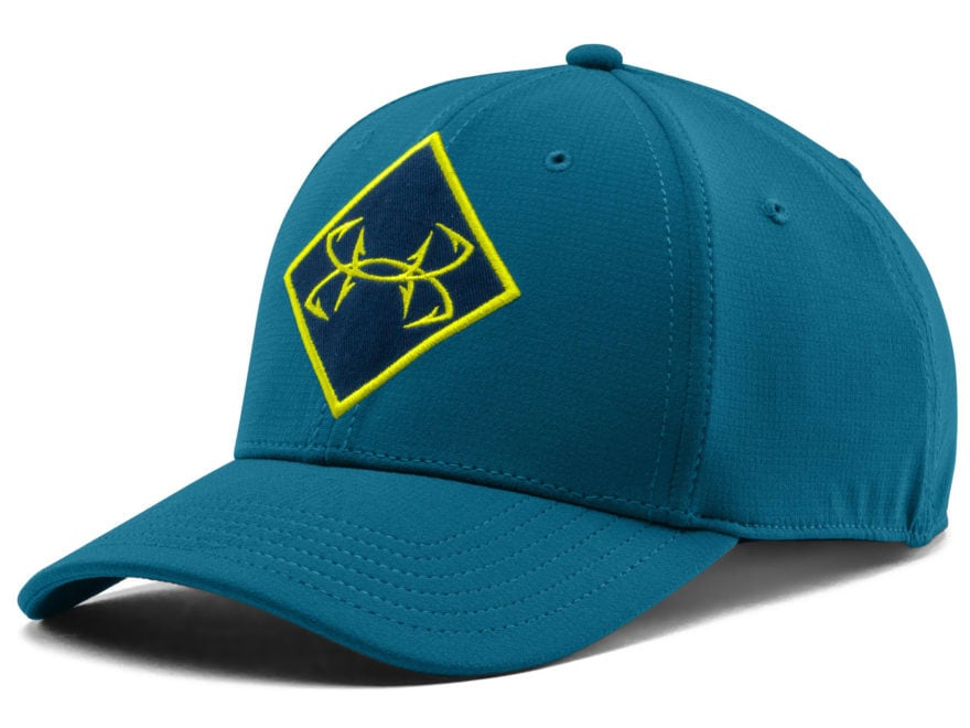 best service 94be7 8d35f Under Armour HeatGear Ripstop Cap Synthetic Blend Saphire Lake