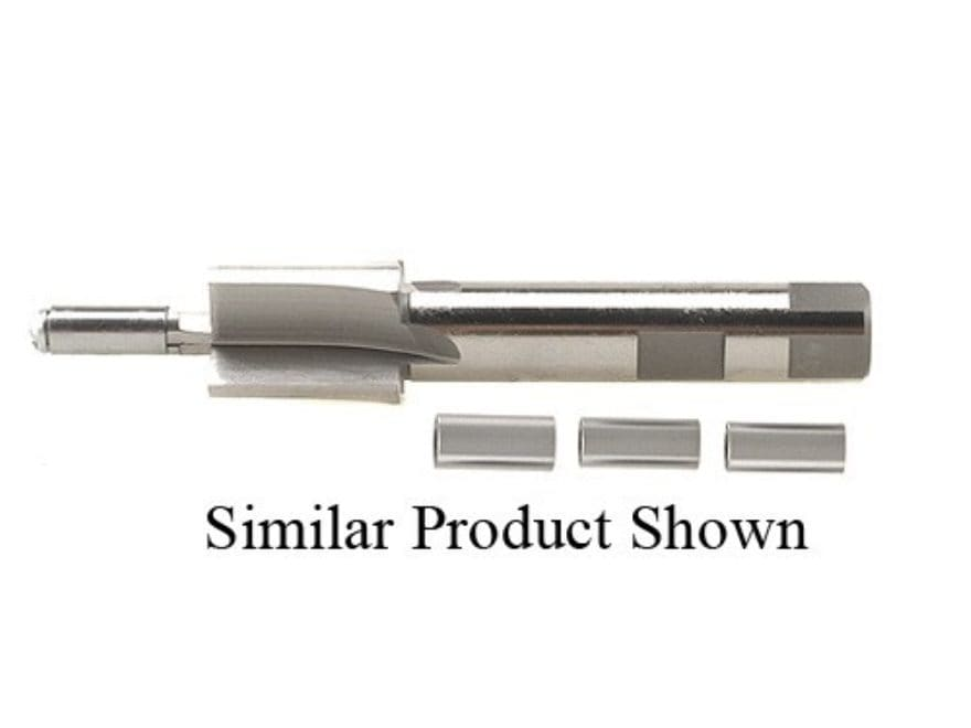 PTG .705 Counterbore Reamer with 30 Caliber and Up 4 Pilot Set (.300, .312, .330, .366)