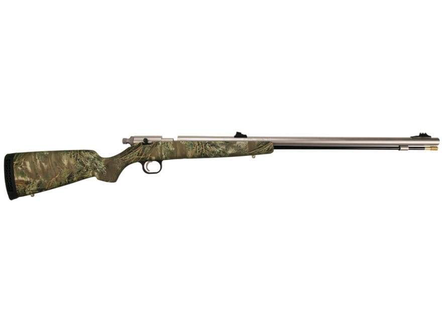 "Knight Bighorn Western Muzzleloading Rifle .52 Caliber 26"" Stainless Steel Barrel Synth..."