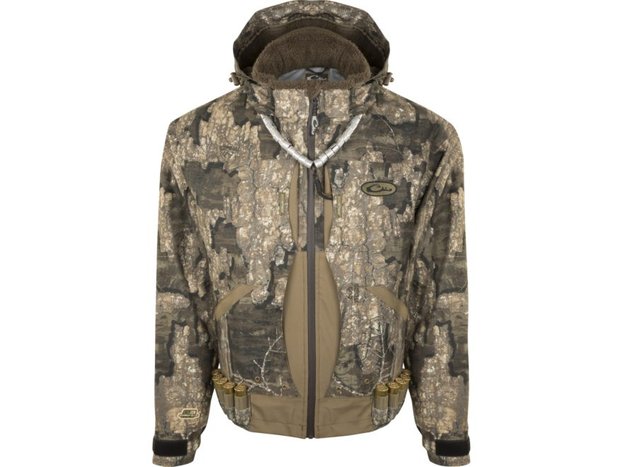 Drake Men's Guardian Elite Flooded Timber Waterproof Insulated Jacket Polyester
