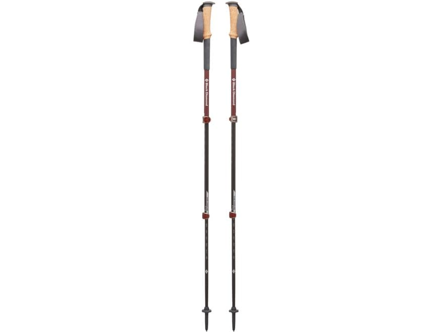 Black Diamond Equipment Alpine Carbon Cork Women's Trekking Pole Pair 59-125 Cm Length ...