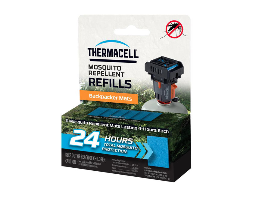 Thermacell Backpacker Mosquito Repellent Mat Only Refill 24 Hours