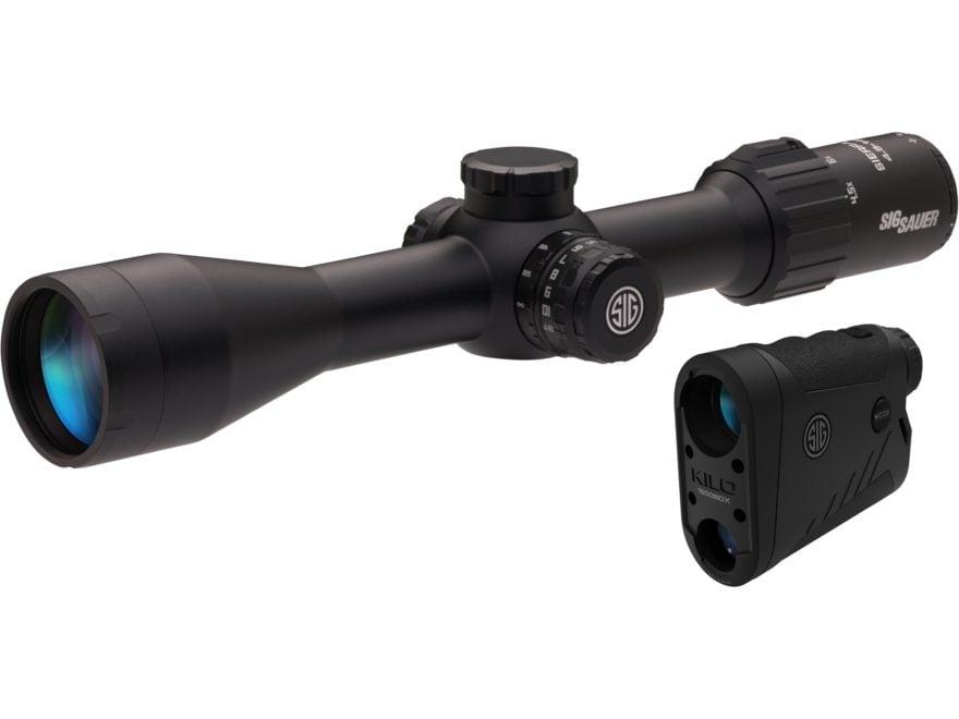 Sig Sauer SIERRA3BDX Ballistic Data Xchange Rifle Scope 30mm Tube 4.5-14x 44mm Side Foc...