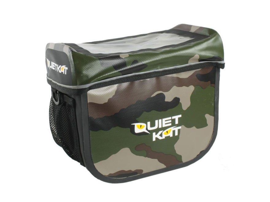 QuietKat Electric FatKat Bike Front Handle Bar Bag Polymer Camo