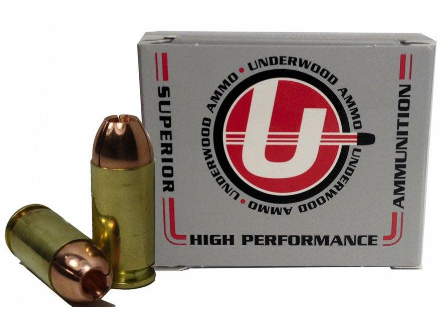 Underwood Ammunition 40 S&W 140 Grain Lehigh Controlled Fracturing Hollow Point Lead-Fr...