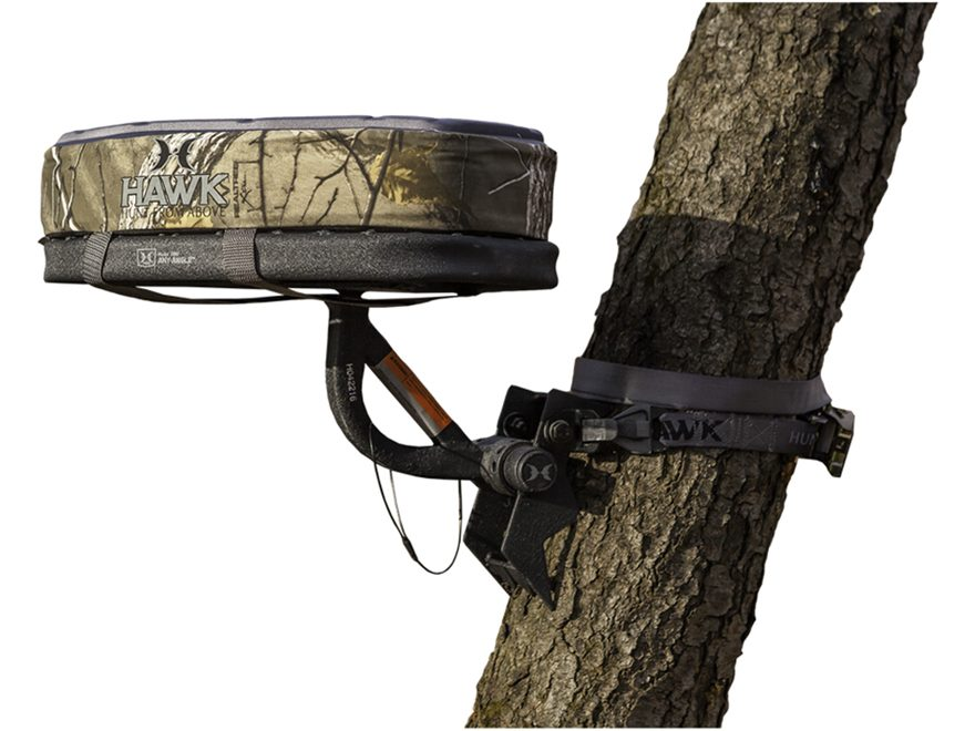 Hawk Any Angle Tree Seat Steel Realtree Xtra