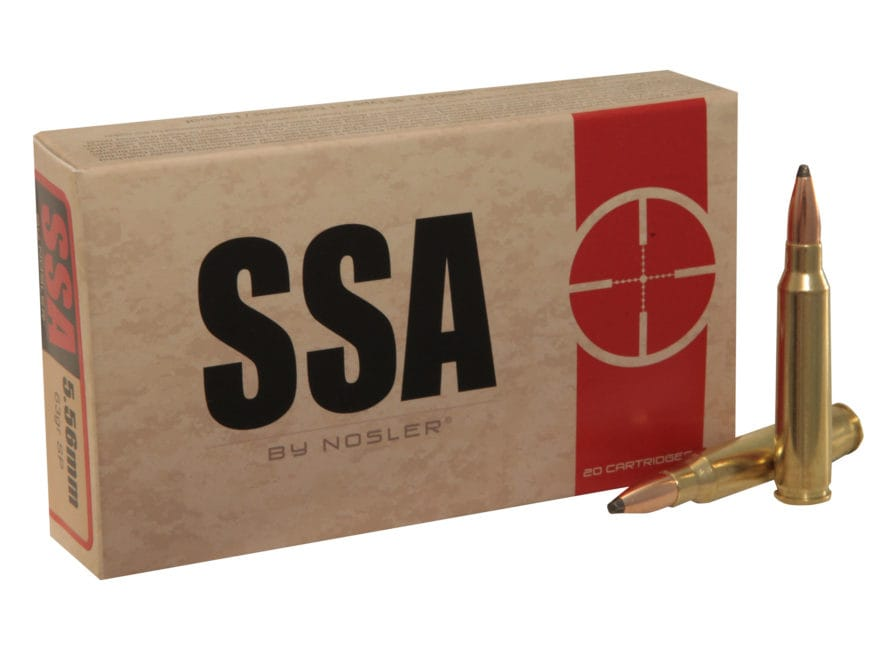 Silver State Armory Ammunition 5.56x45mm NATO 63 Grain Soft Point Box of 20