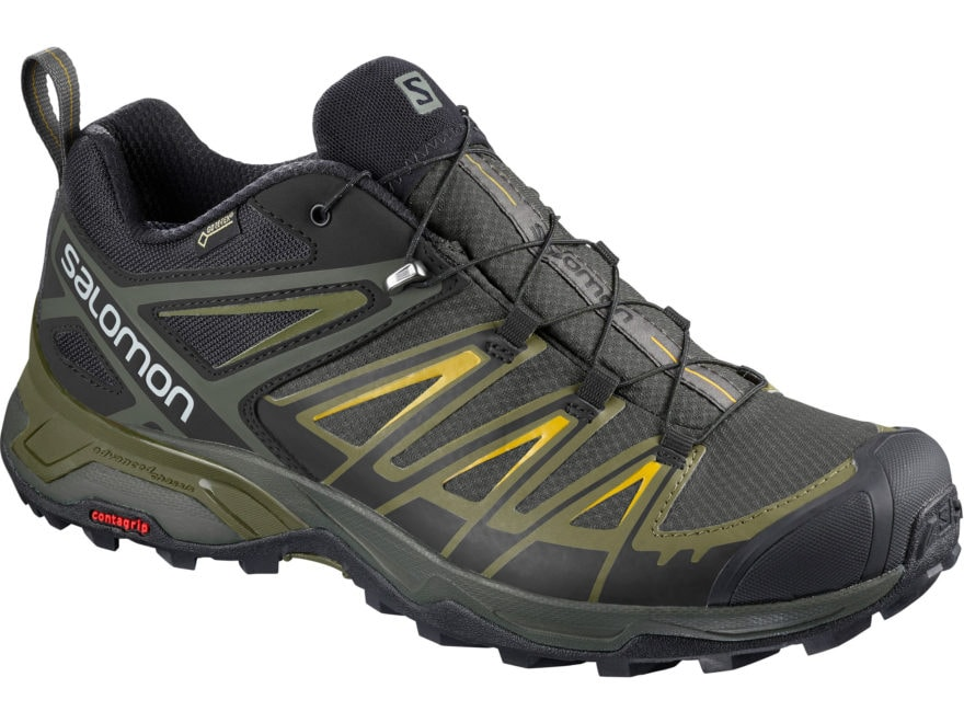 """Salomon X Ultra 3 GTX 4"""" Waterproof GORE-TEX Hiking Shoes Leather/Synthetic Men's"""