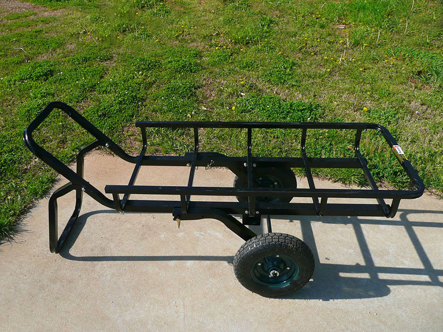 Viking Solutions Tilt-N-Go Game Cart Combo Steel Black