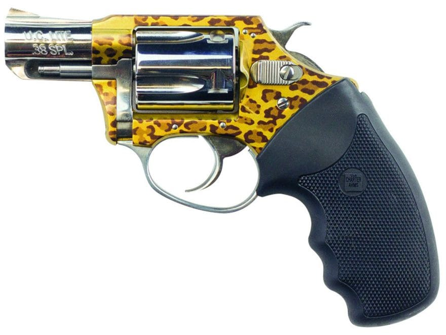 "Charter Arms 53889 The Leopard Revolver with Case 38 Special 2"" Barrel 5-Round Leopard/..."