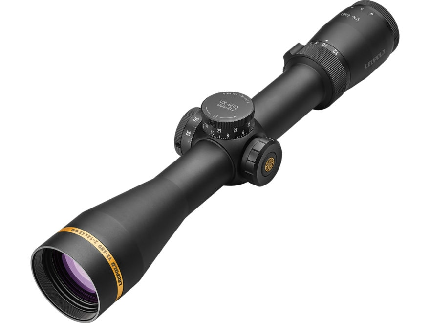 Leupold VX-6HD Rifle Scope 30mm Tube 2-12x 42mm CDS-ZL2 Illuminated Matte