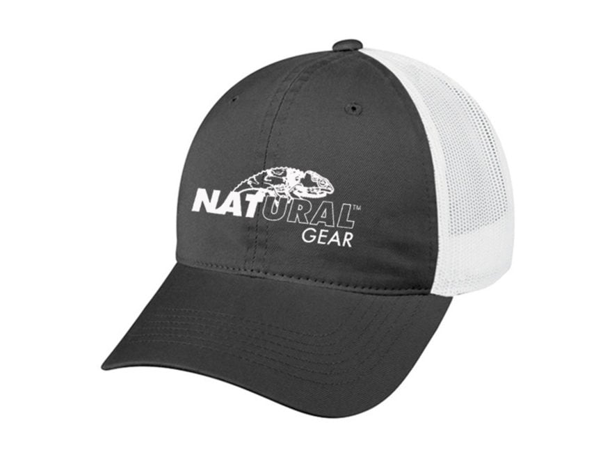 Natural Gear Mesh Back Logo Cap