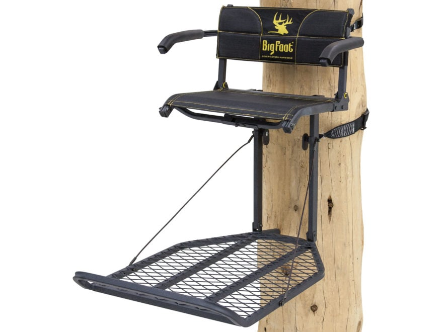 Rivers Edge Big Foot TearTuff XL Lounger Hang On Treestand Steel Black