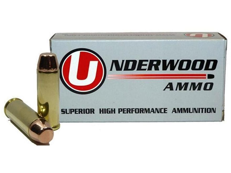 Underwood Ammunition 45 Colt (Long Colt) 250 Grain Full Metal Jacket Box of 50