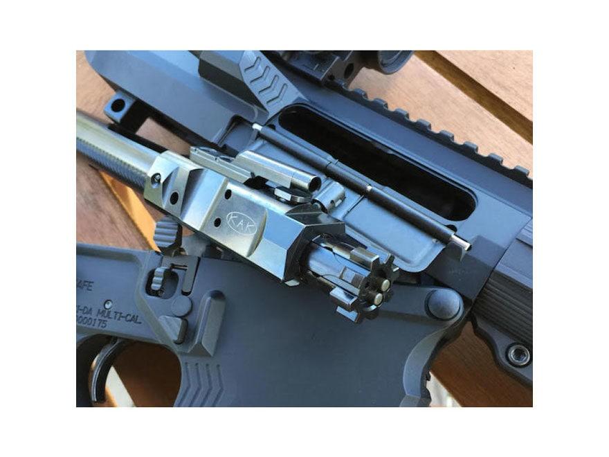 KAK Bolt Carrier Group LR-308 308 Winchester with Double Ejectors Steel Matte