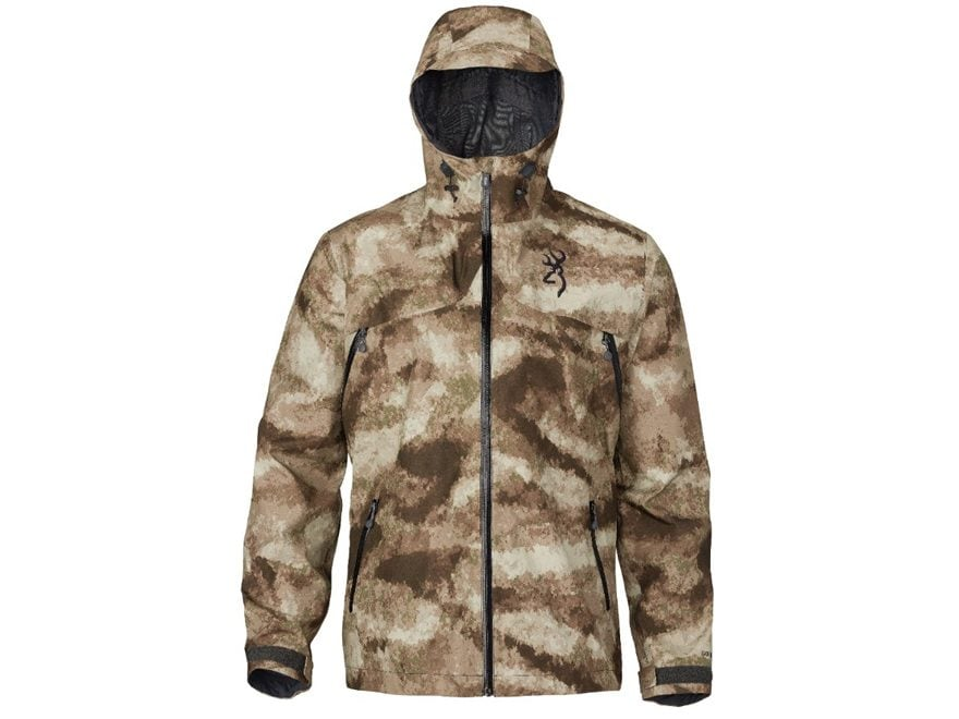 Browning Men's Hell's Canyon Speed Rain Slayer-FM Gore-Tex Waterproof Rain Jacket Nylon
