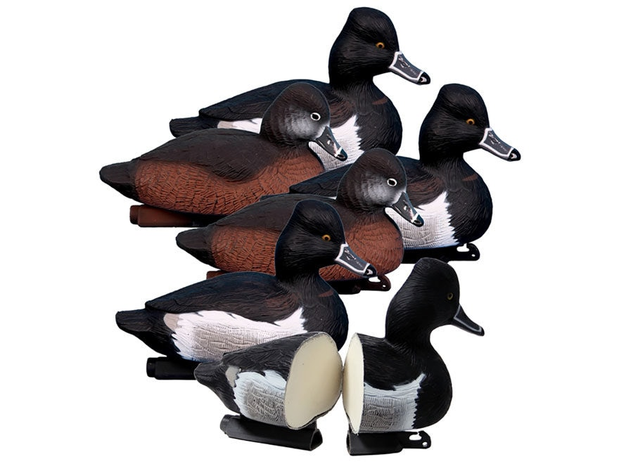 Higdon Standard Foam Filled Ringneck Duck Decoy Polymer Pack of 6