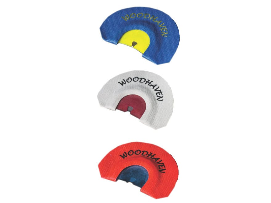 Woodhaven Ghost Combo Diaphragm Turkey Call Pack of 3