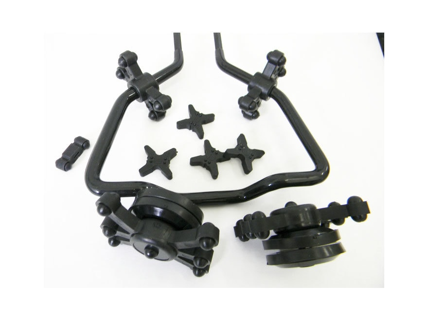 Bowjax Complete Split Limb Crossbow Dampener Kit Rubber Black