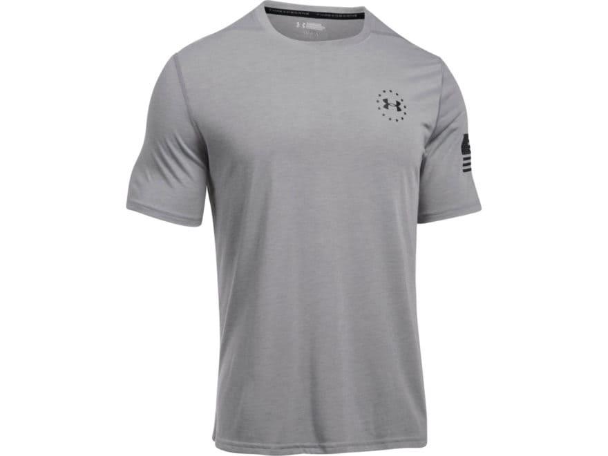 Under Armour Men's UA Freedom Threadborne Siro T-Shirt Short Sleeve Polyester
