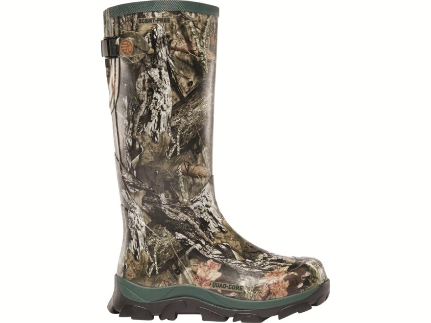 "LaCrosse Switchgrass 15"" Hunting Boots Rubber Clad Neoprene Women's"