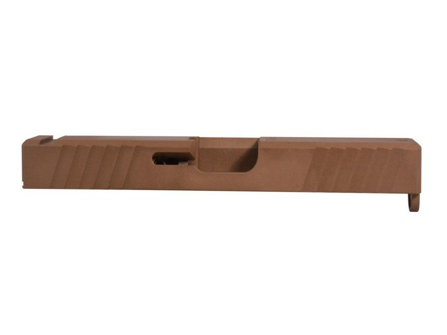 Polymer80 Standard Slide Glock 19 Gen 3 Stainless Steel DLC
